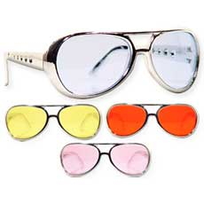 Colorful Elvis Glasses