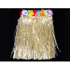 Hula Skirt with Flowers