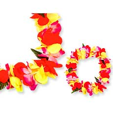 Tropical Flower Leis