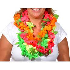 Assorted Neon Leis