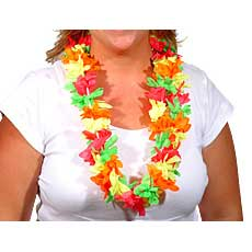 Multi Color Neon Leis