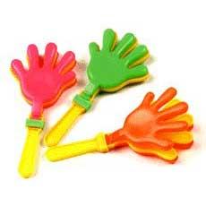 Neon Hand Clackers