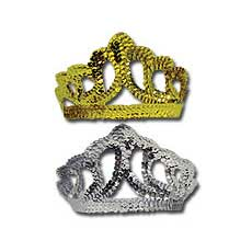 Gold/Silver Sequin Tiara