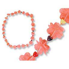 Flower Leis w/ Hearts