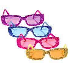 Funky Glitter Glasses