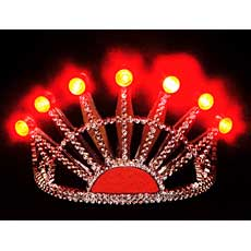 Light Up Silver Tiara