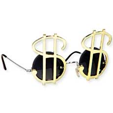 Dollar Sign Sunglasses