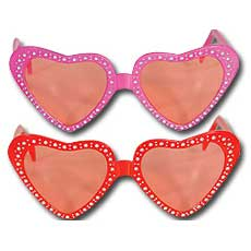 Diamond Heart Glasses