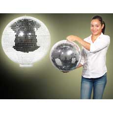 "16"" Disco Ball With Base"