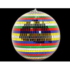 "12"" Rainbow Disco Ball"