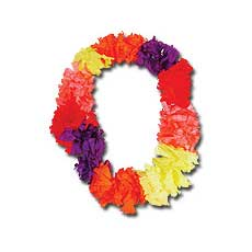 Colorful Hibiscus Leis