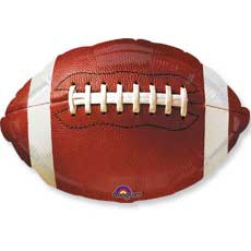Football Shaped Balloon
