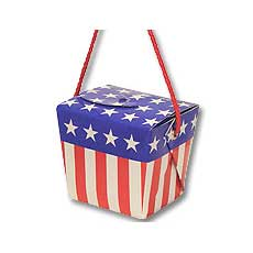 Patriotic Balloon Box