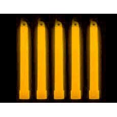 "25 Orange 6"" Lightsticks"