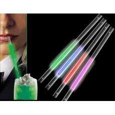 Green Glow Straws