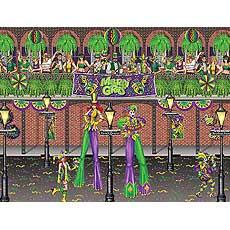 Dlx Mardi Gras Scene Kit