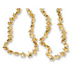 "Gold Star Necklaces 32"" (12)"