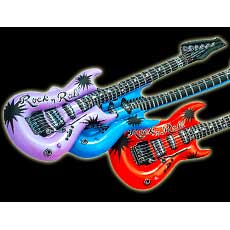 Multi Color Guitars
