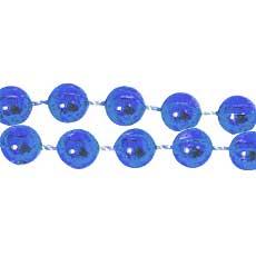 "Navy Blue 33"" Beads"