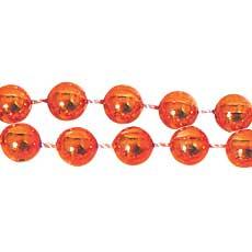 """Orange 33"""" Beads"""