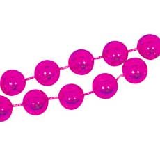 """Pink 8mm 33"""" Beads"""