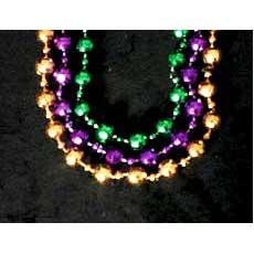 """42"""" Mardi Gras Beads"""