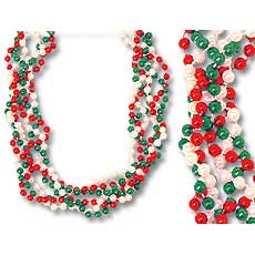 Red White & Green Twist