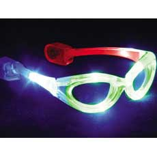 Multicolor LED Glasses
