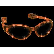 Orange LED Sunglasses