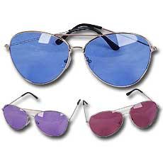 Colored Aviator Glasses