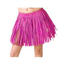 Pink Mini Hula Skirt