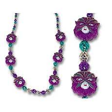 Blinking Mask Beads