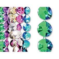 "42"" Metallic Beads"