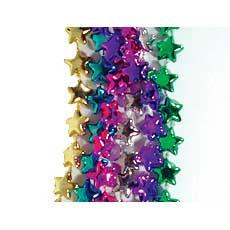 Metallic Star Beads