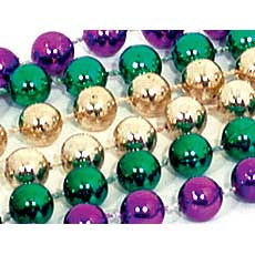 22mm Mardi Gras Beads