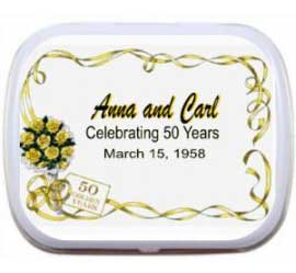 Anniversary Mints, Floral