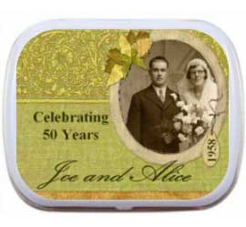 Anniversary Photo Mint Tin