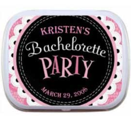 Mint Tin, Bachelorette Party Pink Theme