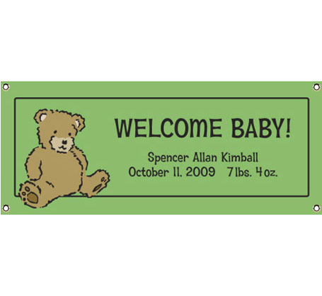 Brown Bear Announcement Banner
