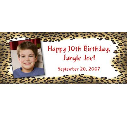 Jungle Theme Photo Banner / A great photo theme jungle banner