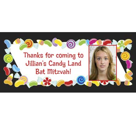 Candy Theme Banner / Welcome your guests to a candy theme party