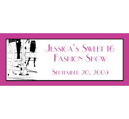 Fashion Theme Banner / The perfect banner for the fashionista in the family!