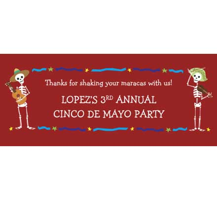 Cinco de Mayo Theme Banner