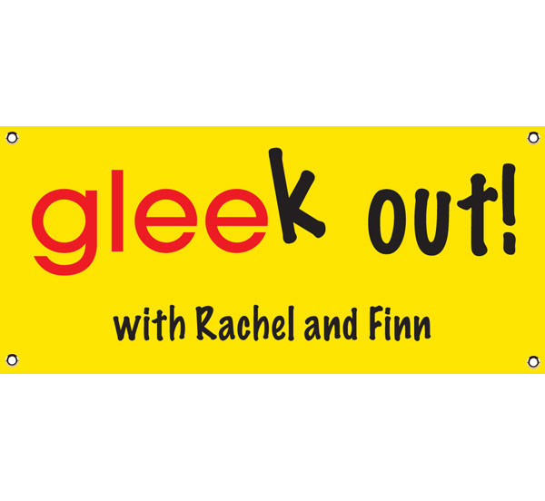 "GLEE ""Gleek"" Theme Banner / Let the singing begin!"