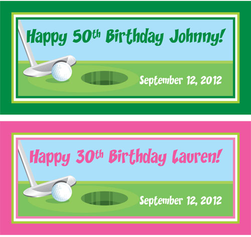 Birthday Golf Theme Banner / The golf theme party banner is perfect for your golf event!