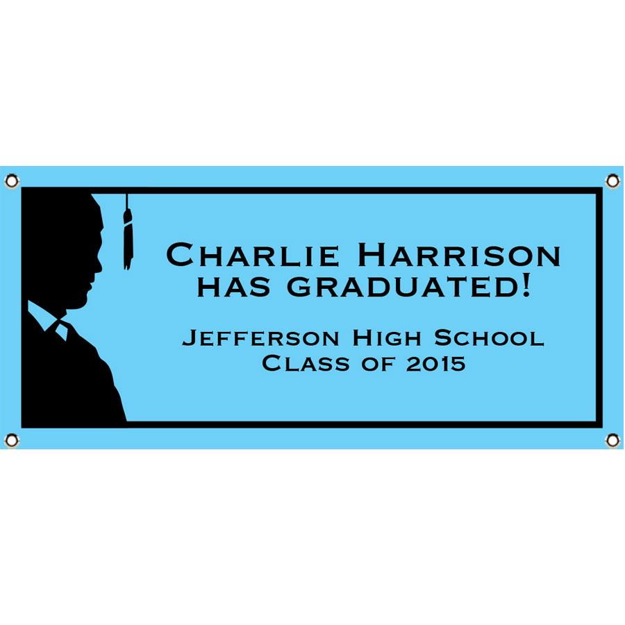 Graduation For Him Theme Banner