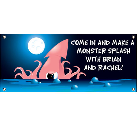 Halloween Sea Creature Theme Banner