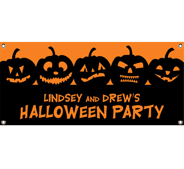 Halloween Jack o Lanterns Theme Banner