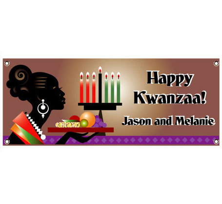 Kwanzaa Celebration Theme Banner