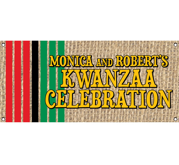 Kwanzaa Party Theme Banner